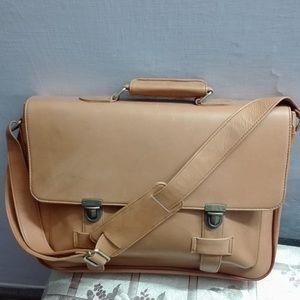 Handbags - Leather laptop bag